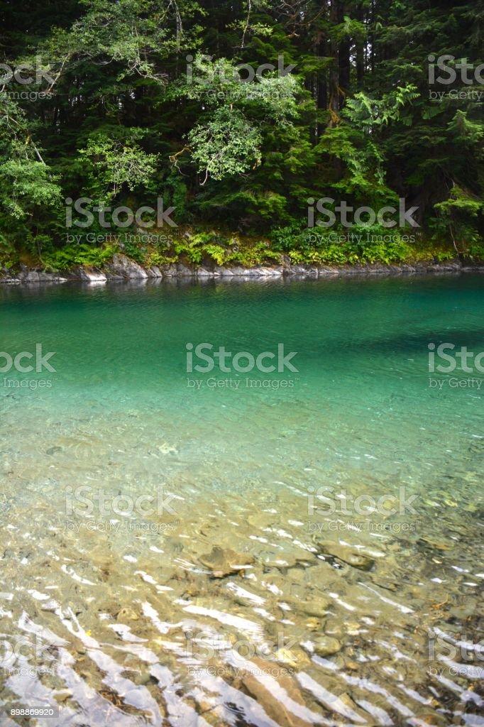 Fairy Lake stock photo