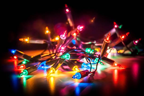 Fairy Lights stock photo
