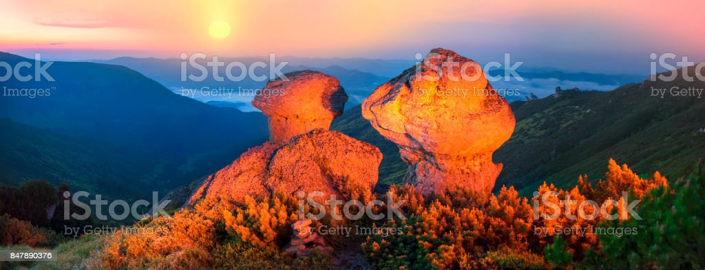 Fairy Mountain stock photo