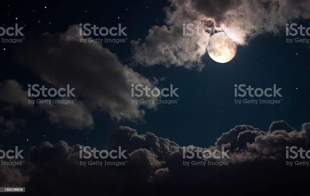 Fairy night stock photo