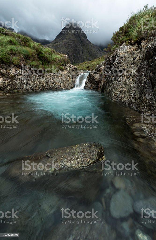 Hada piscina, de la isla de cielo - foto de stock