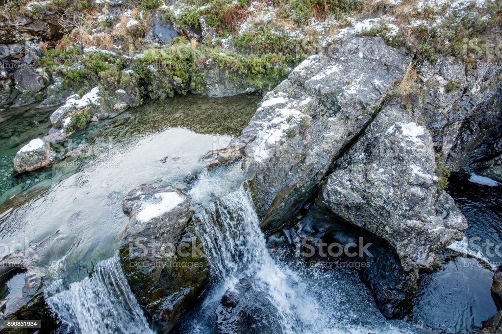 Fairy zwembaden Isle of Skye foto