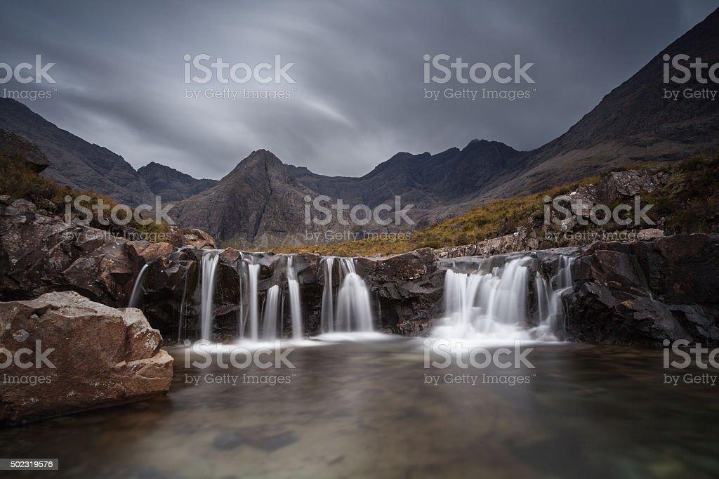 Fairy pools stock photo