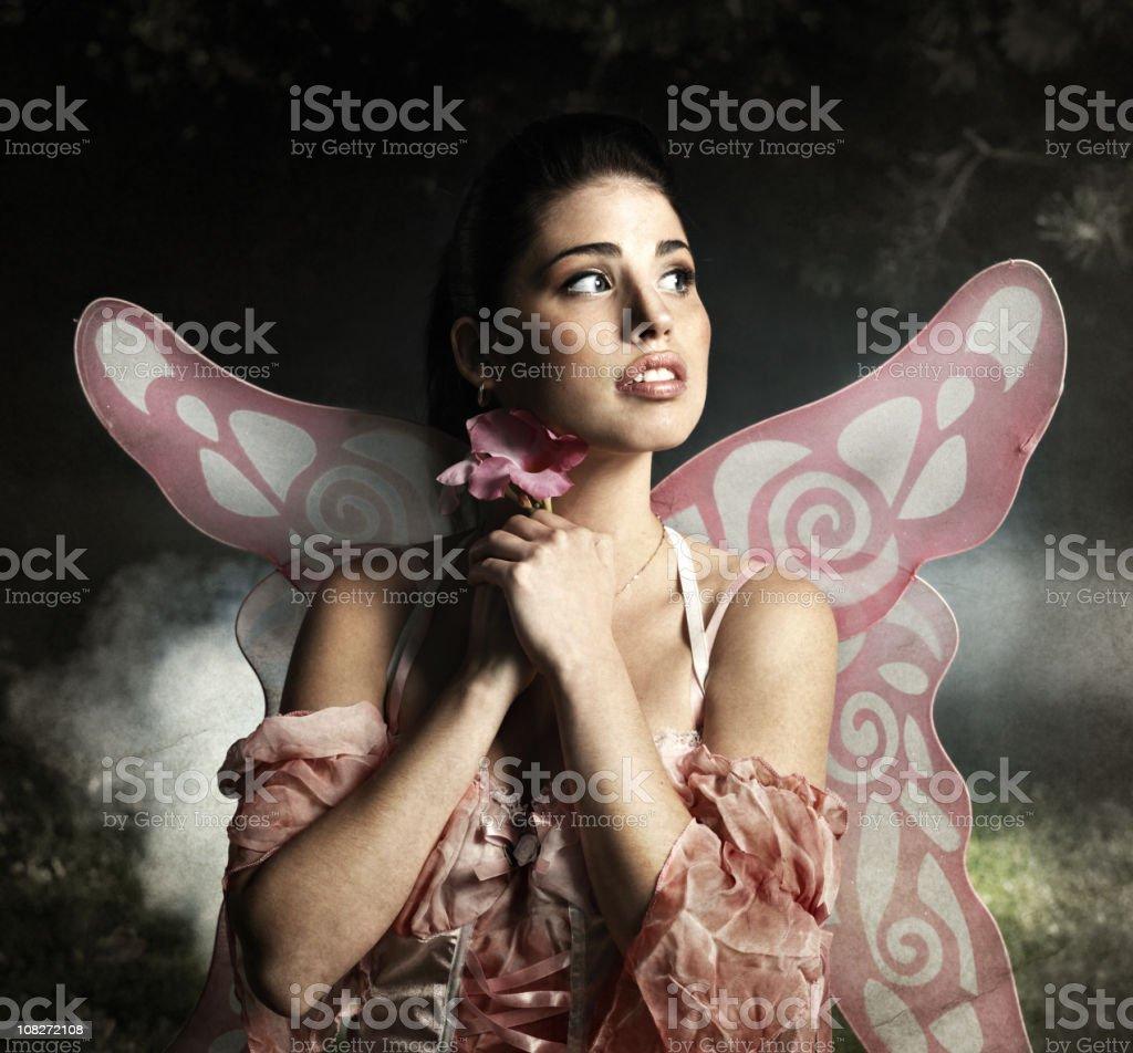 Fairy portrait royalty-free stock photo