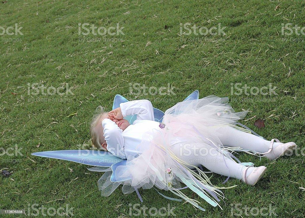 Fairy:  Pouting royalty-free stock photo