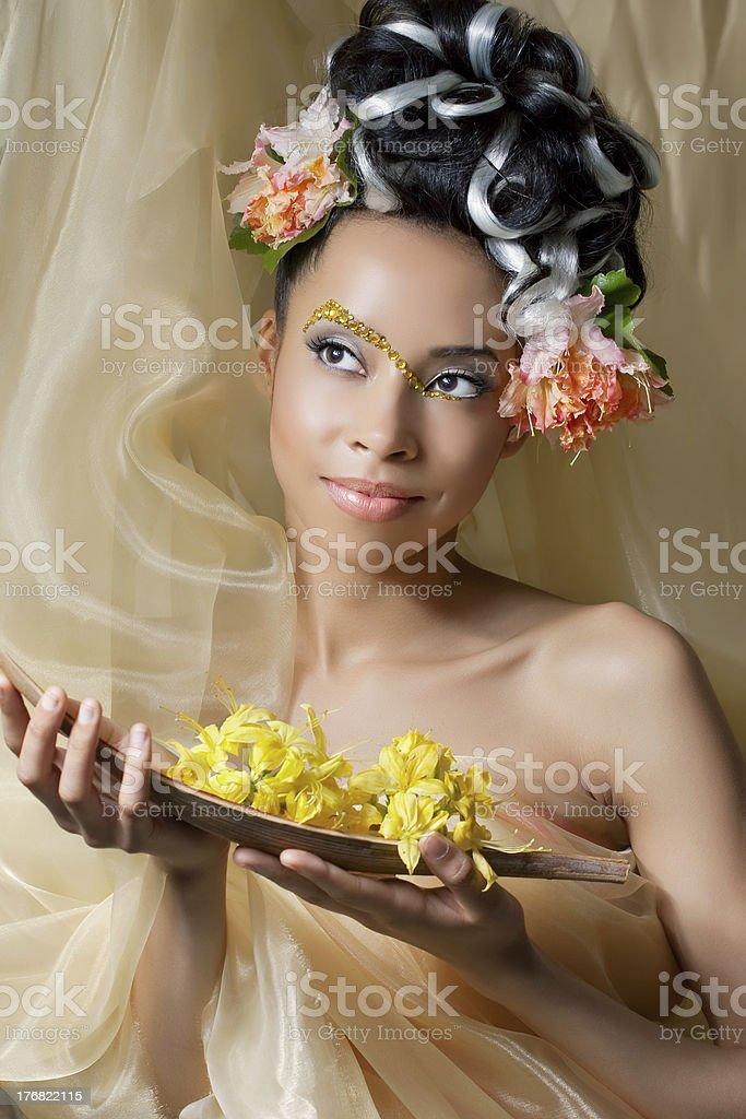 Fairy princess stock photo