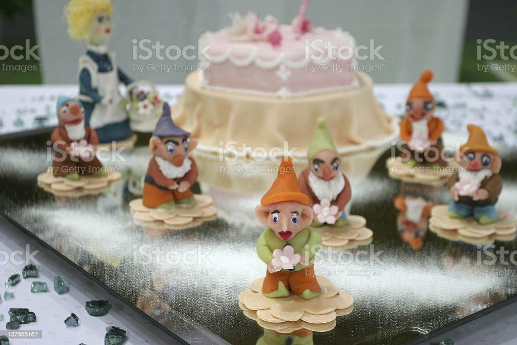 Fairy tale cake royalty-free stock photo