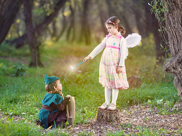 fairy tale - fairy wand stock photos and pictures