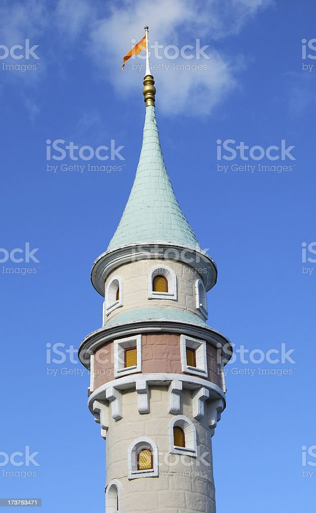 Fairy tale tower royalty-free stock photo
