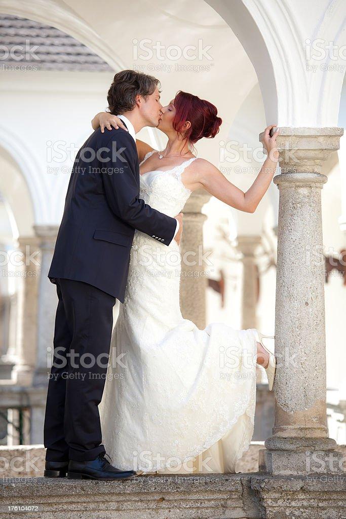 fairy tale wedding royalty-free stock photo