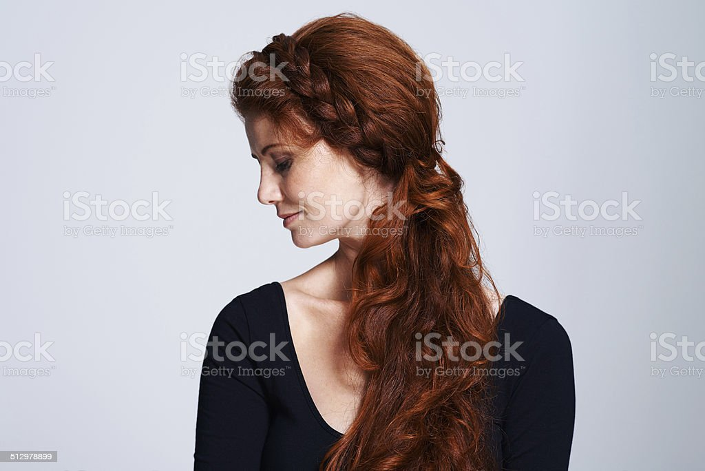 Fairytale beauty stock photo