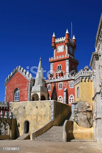 Fairy-tale castle in Portugal