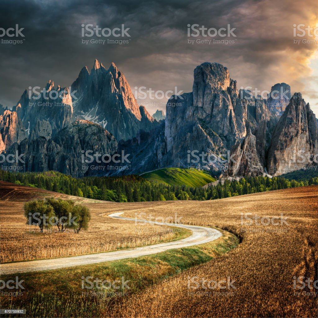 paysage de conte de fées - Photo
