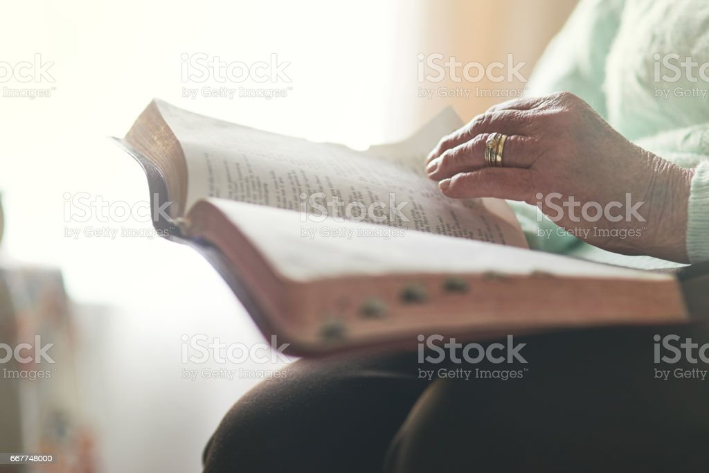 Faith comes first stock photo