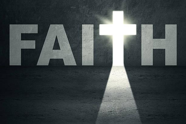 faith tür - religionsfreiheit stock-fotos und bilder