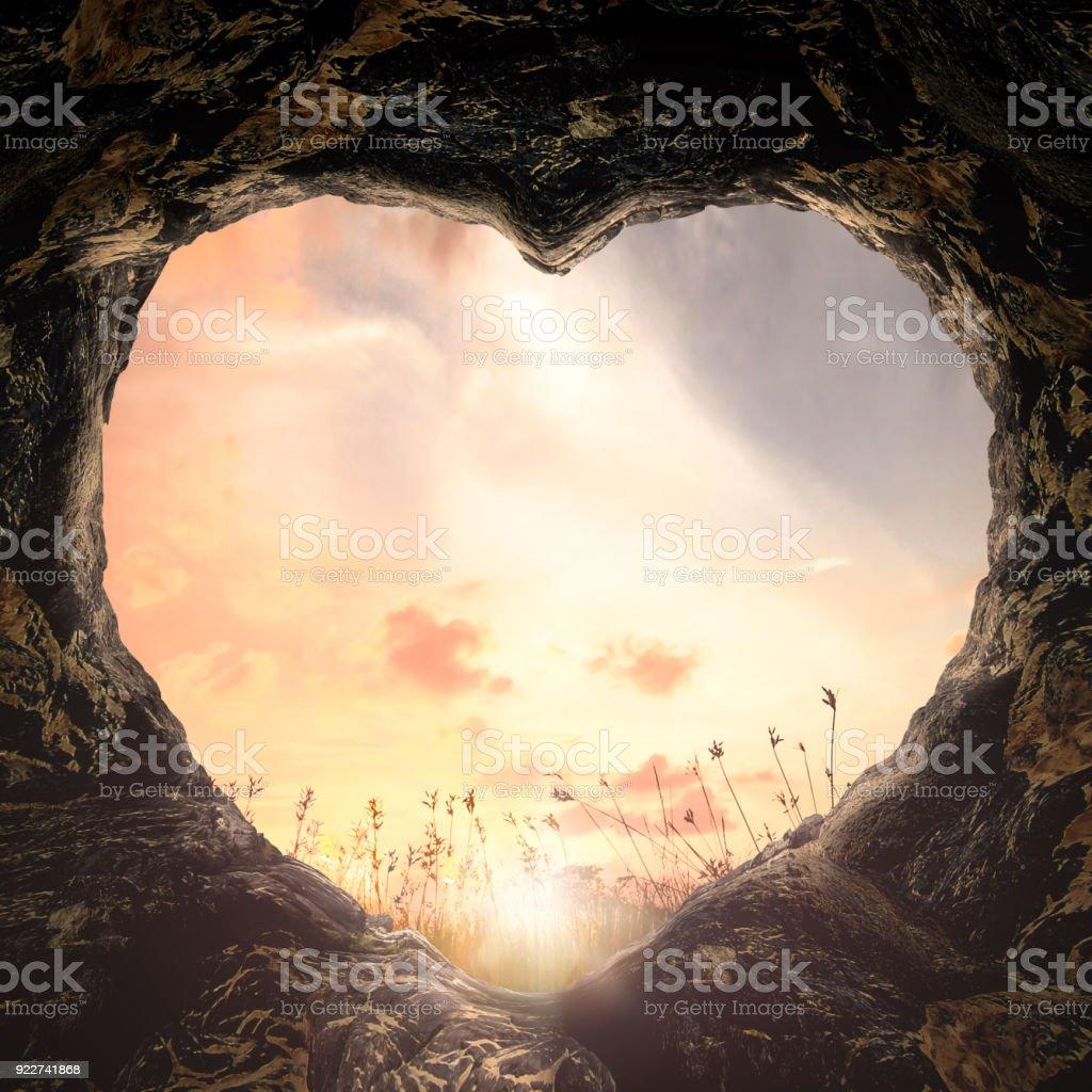 Conceito de fé Hope Love - foto de acervo