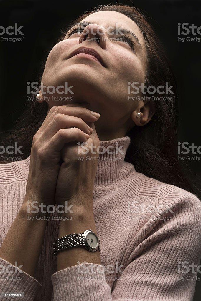 Faith in God stock photo