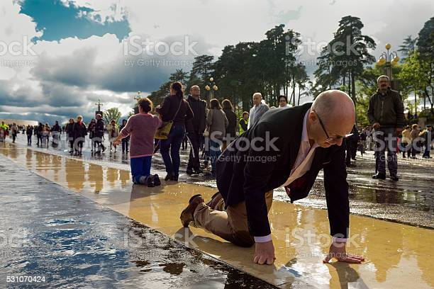 Faith In The Shrine Of Fatima Stock Photo - Download Image Now