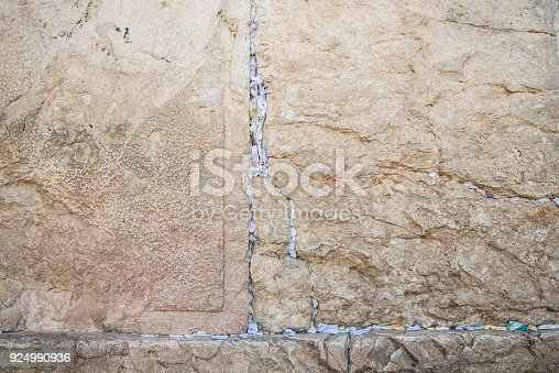 East Jerusalem and the orthodox judaic wall
