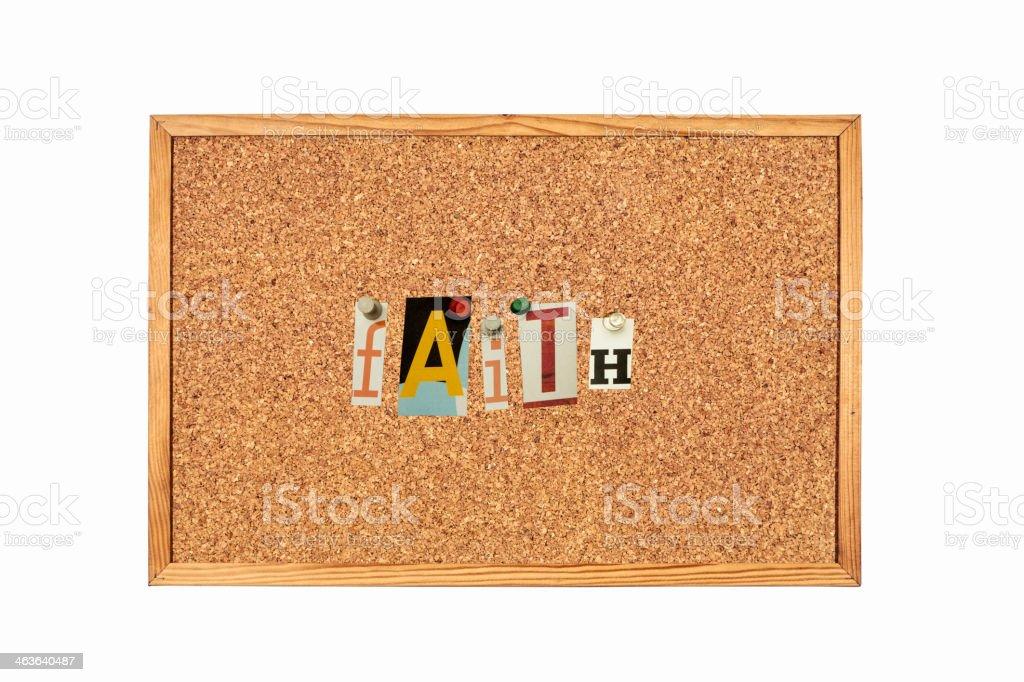 Faith,word royalty-free stock photo