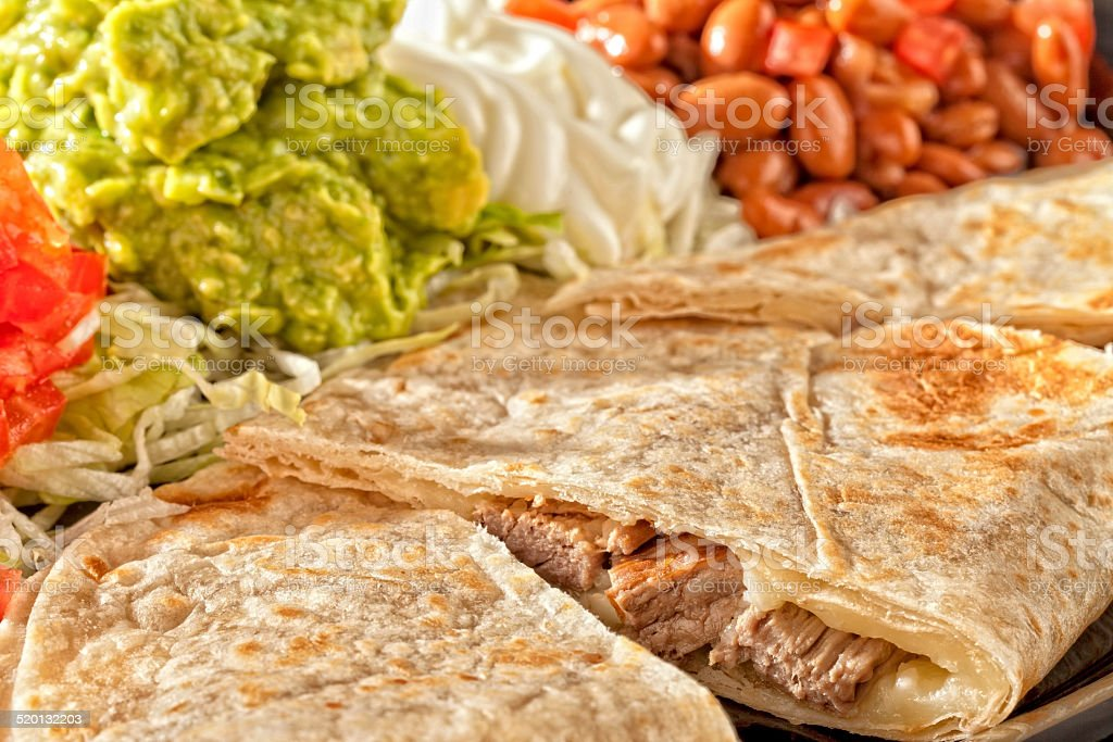 Fajita Taco stock photo