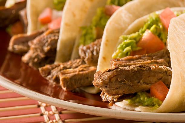Fajita Tacos - foto de stock