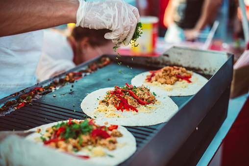 Street food stock photos
