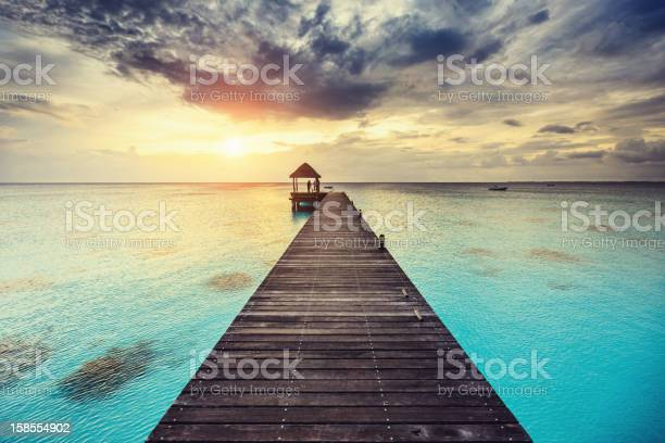 Photo of Fakarava Sunset at Jetty French Polynesia