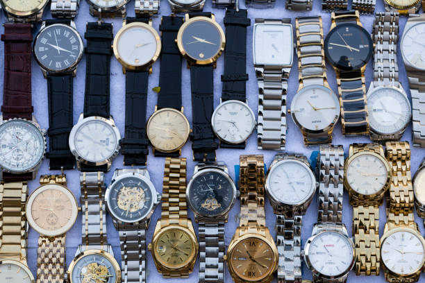 Gefälschte gefälschte Armbanduhr Bangkok Thailand – Foto