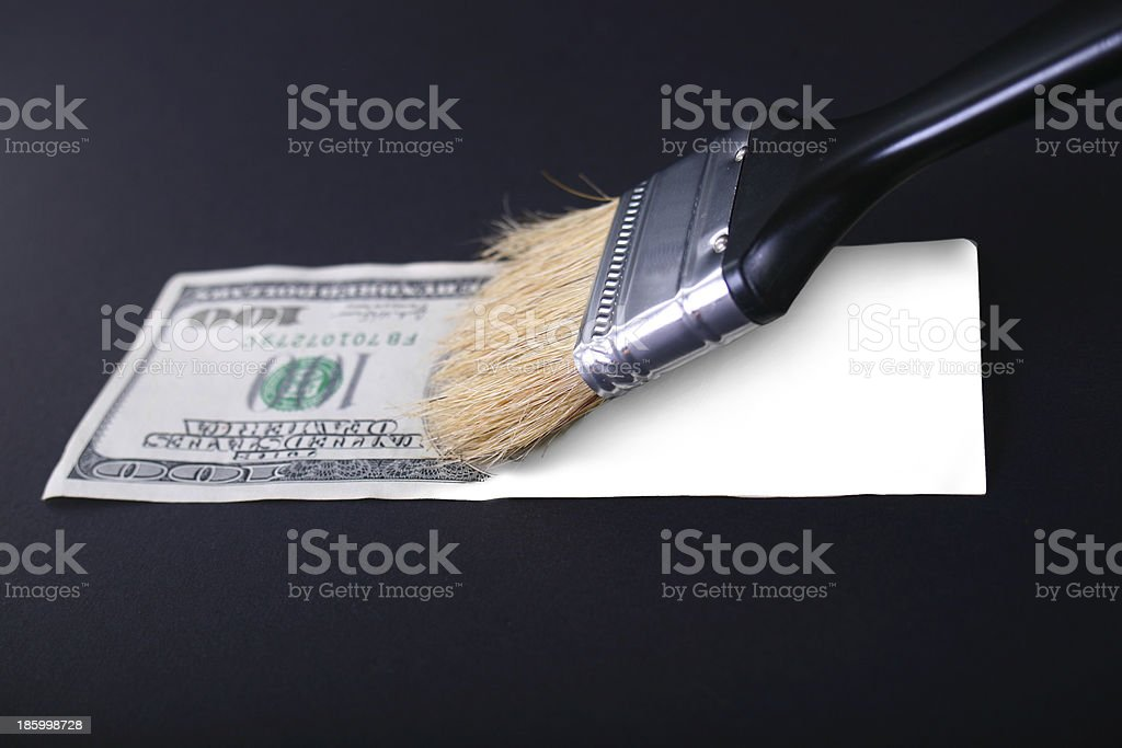 fake dollar stock photo
