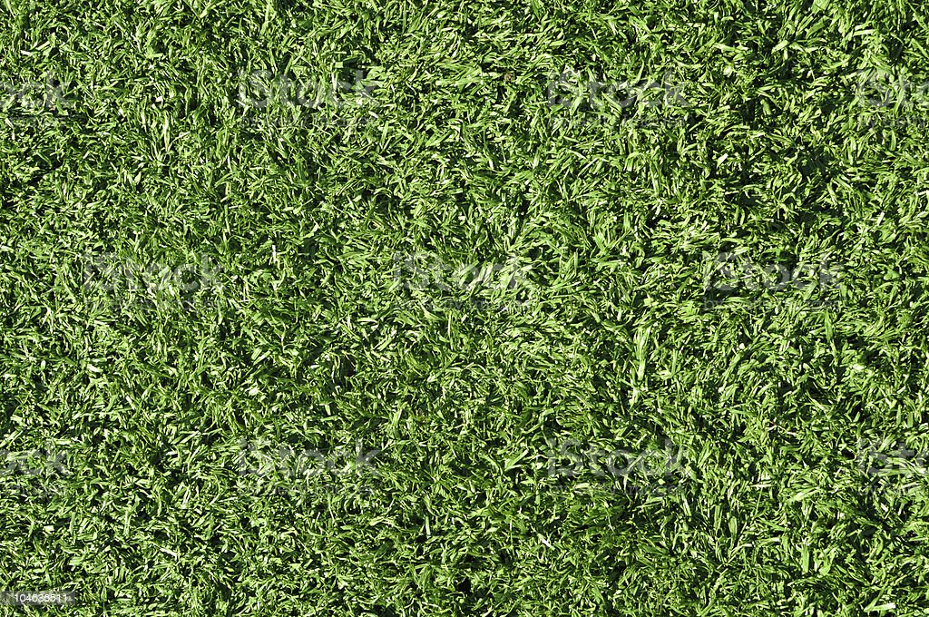 Fake Grass used on sports fields royalty-free stock photo
