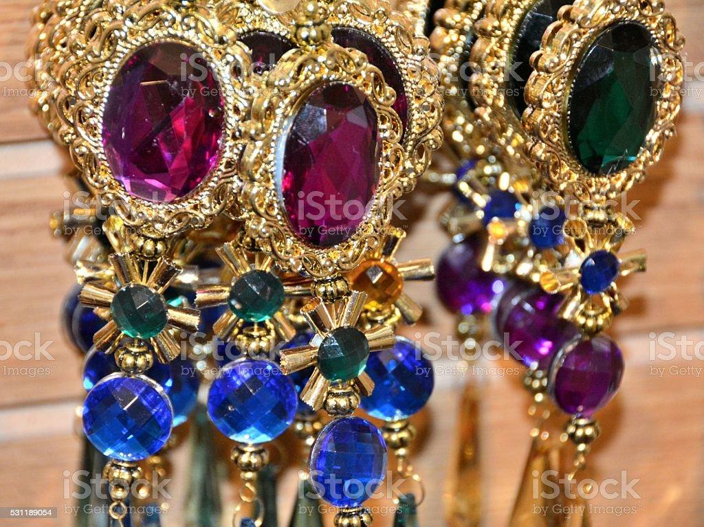 Fake Jewels stock photo