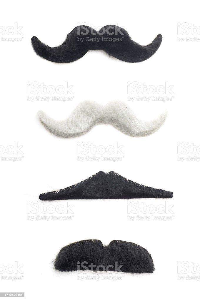 Fake Mustaches stock photo