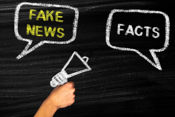 Fake News und Fakten Konzept – Foto