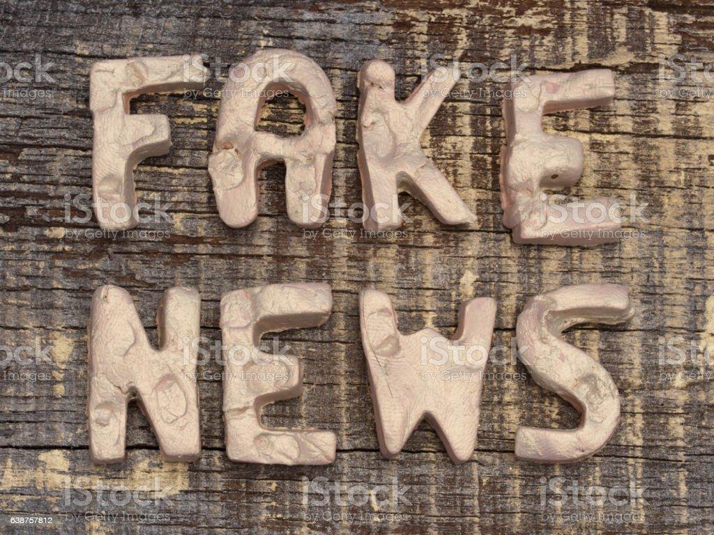 Fake News concept stock photo