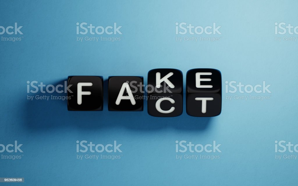 Fake News Concept stock photo