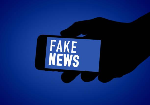 Fake News - false information concepts stock photo