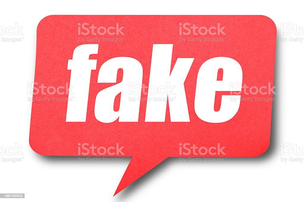 Fake royalty-free stock photo