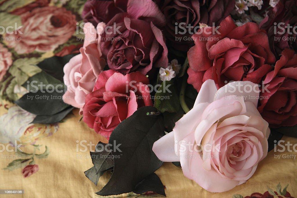 Fake Roses stock photo