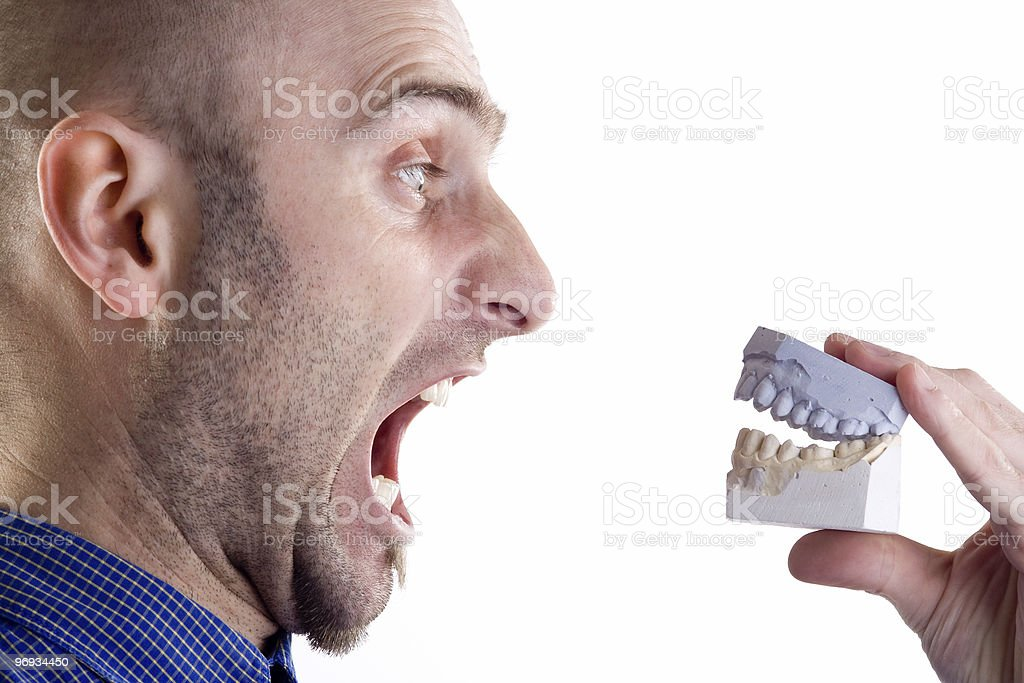 Fake Teeth royalty-free stock photo