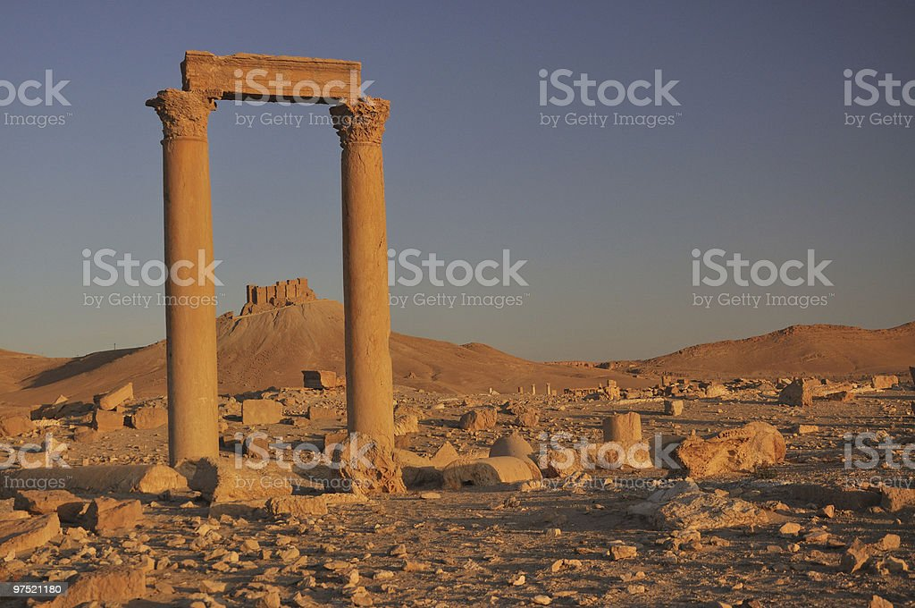 Fakhr-al-Din al-Maani Castle royalty-free stock photo