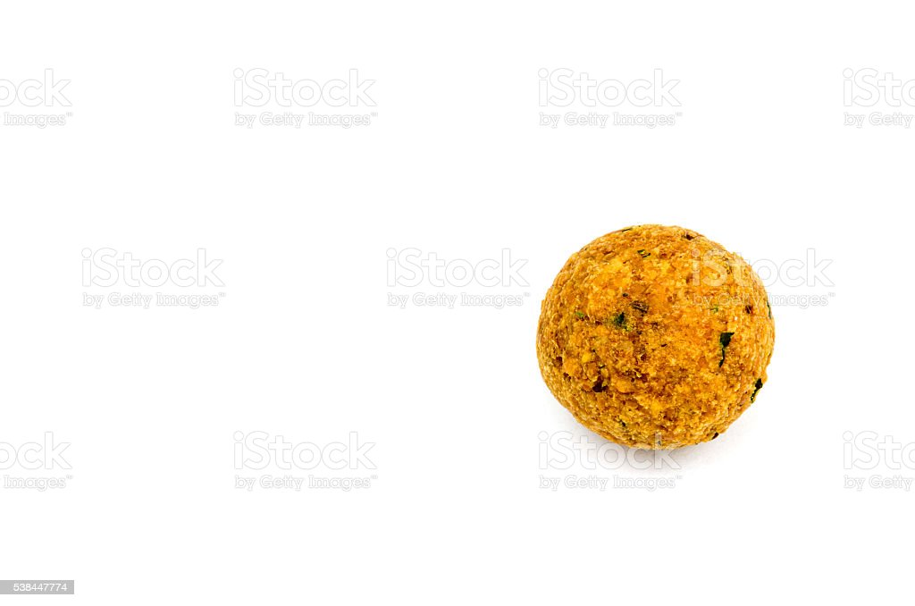 falafel isolada no branco foto royalty-free