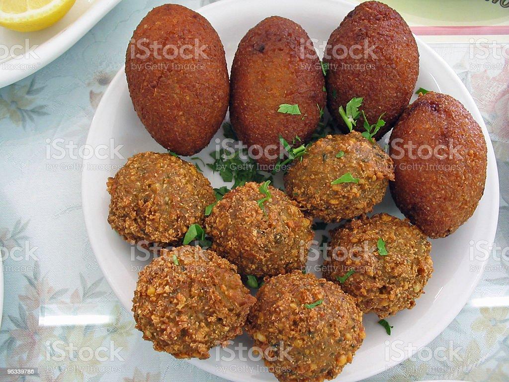 Falafel - Mediteranean dish stock photo
