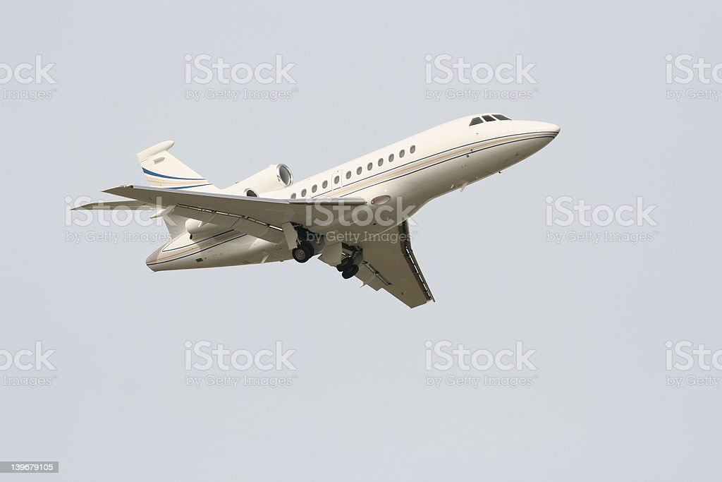 Falcon departing royalty-free stock photo