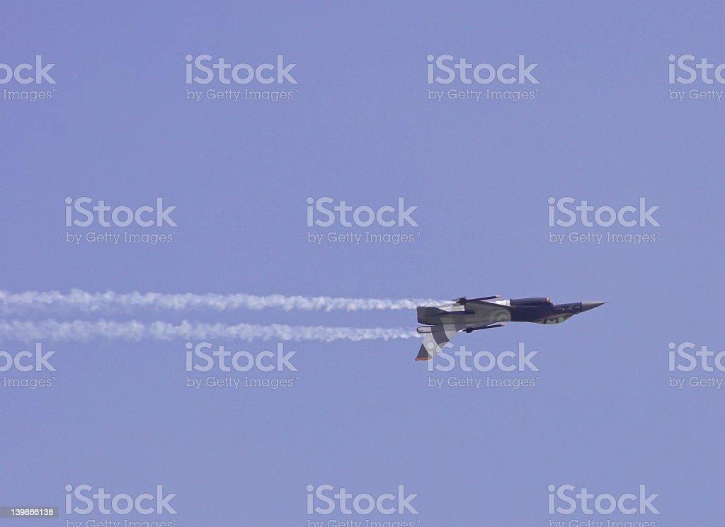 F16 Falcon royalty-free stock photo