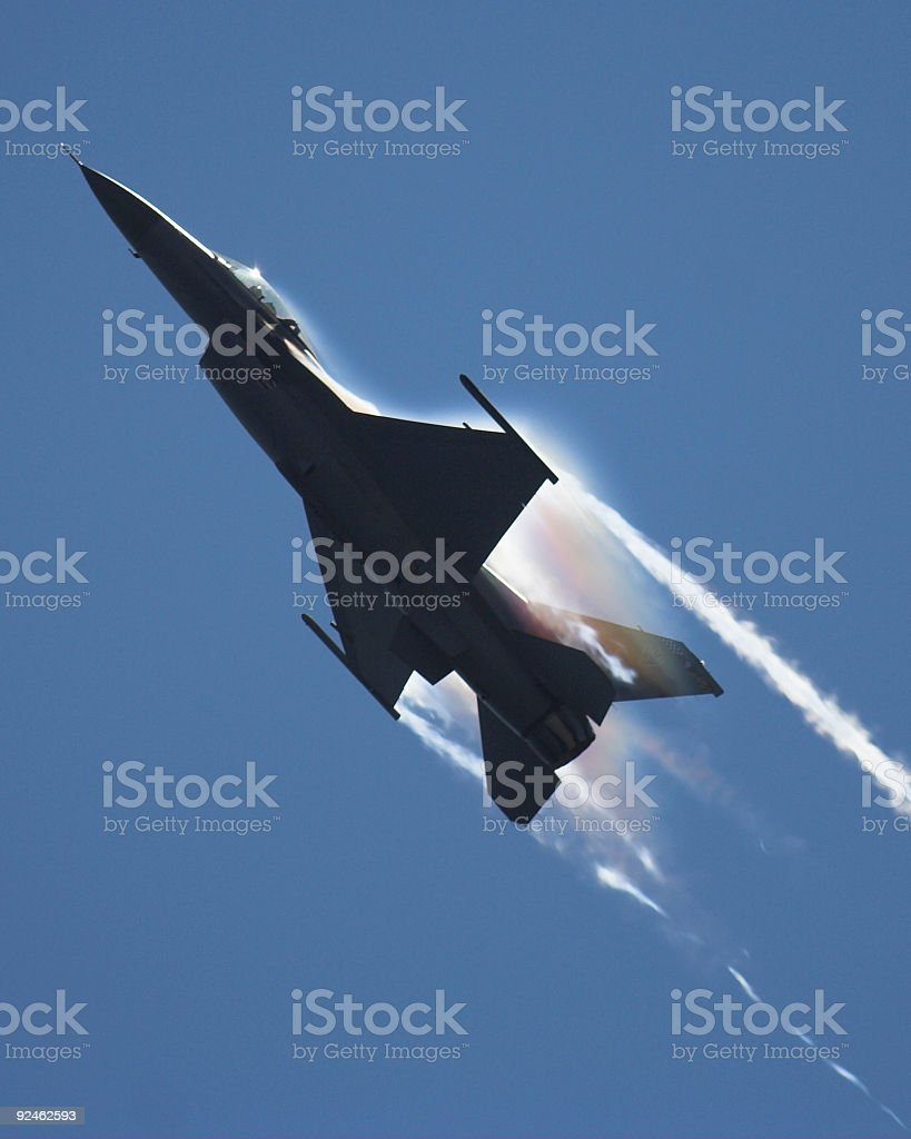 F-16 Falcon royalty-free stock photo