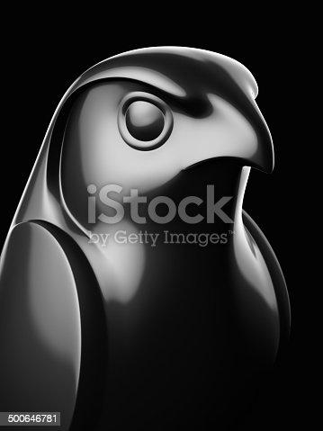istock Falcon Statue XL 500646781