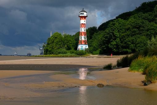 Falkenstein Lighthouse, Hamburg, Germany