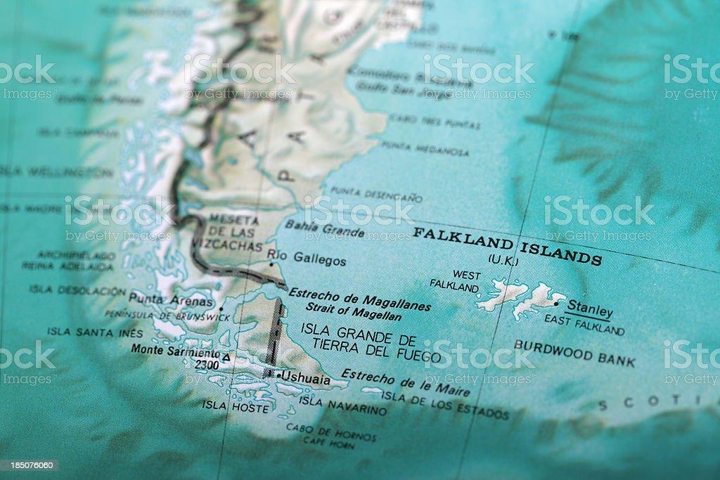 Falkland Islands stock photo