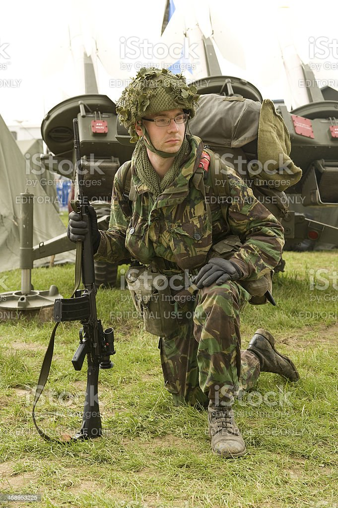 Falklands War Soldier Stock Photo - Download Image Now - iStock